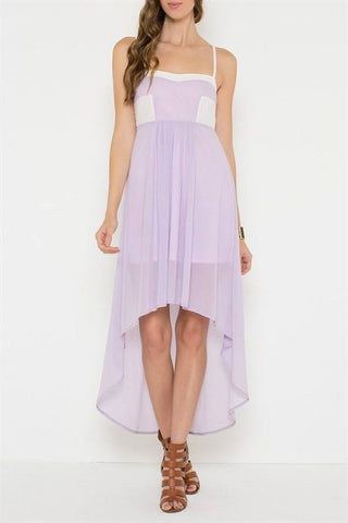 Love Lavender Dress Trunk Up