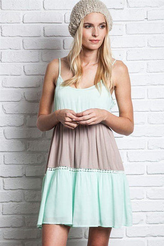Mint Lollipop Tunic Dress - Trunk Up
