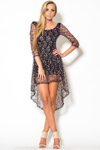 Romantic Hi Low Dress - Trunk Up - 1