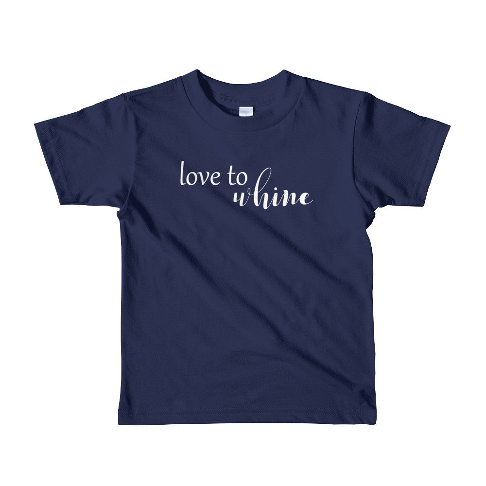 Love to Whine Child - TU Tees - Trunk Up
