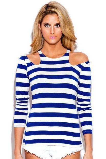 Nautical Cut Out Top - Trunk Up - 1
