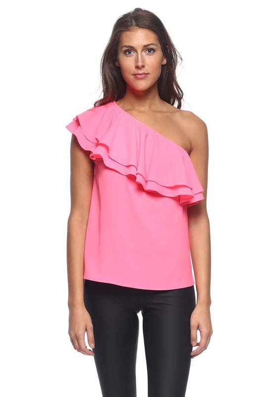 Cold Shoulder Top - Trunk Up