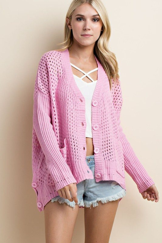 Dusty Pink Sweater - Trunk Up - 1