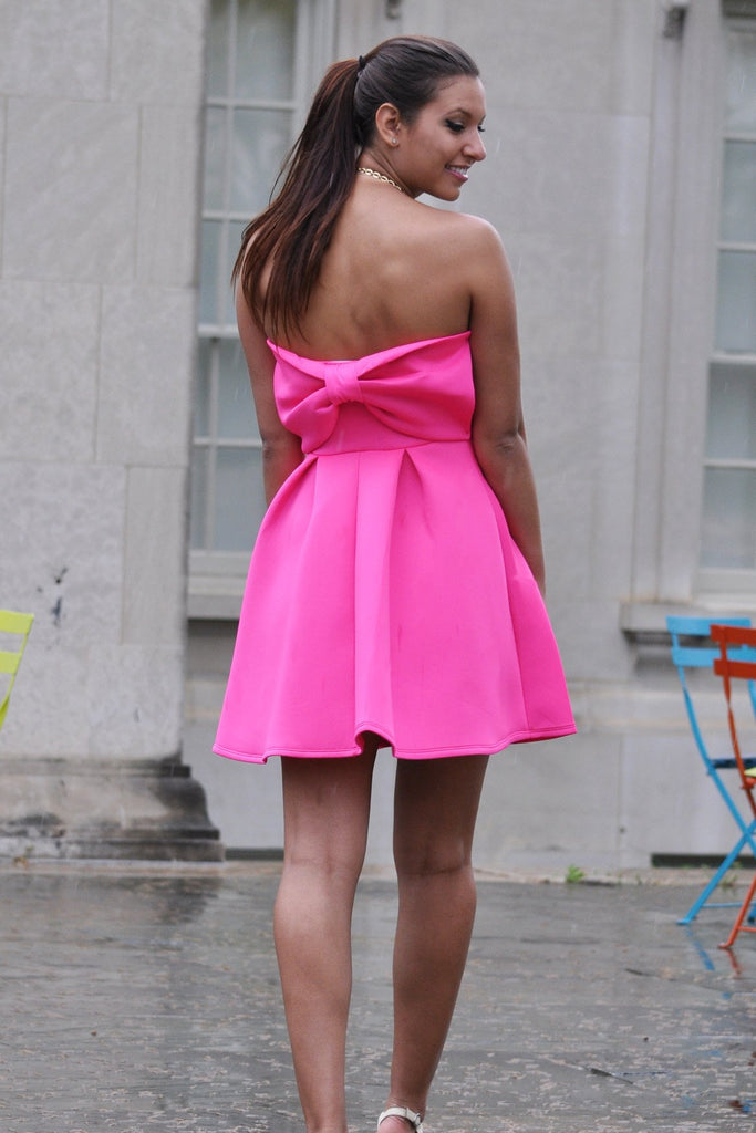 Pink Party Dress - Trunk Up - 1