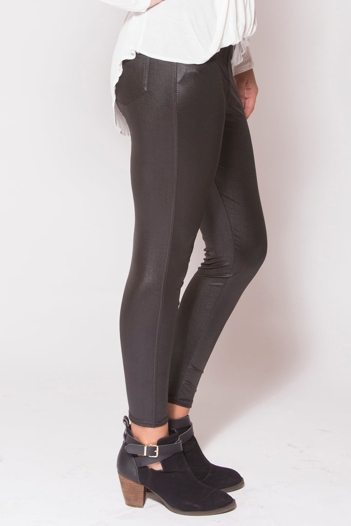 Pitch Black Leggings - Trunk Up