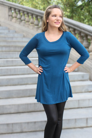 Such a Teal Tunic - Trunk Up - 1