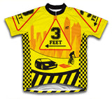 3 Feet Short Sleeve Cycling Jersey for Men and Women