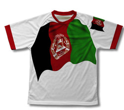 Afghanistan Flag Technical T-Shirt for Men and Women