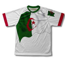 Algeria Flag Technical T-Shirt for Men and Women