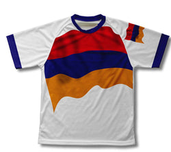 Armenia Flag Technical T-Shirt for Men and Women