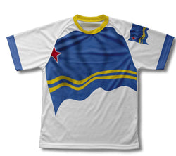 Aruba Flag Technical T-Shirt for Men and Women