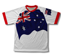 Australia Flag Technical T-Shirt for Men and Women
