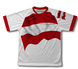 Austria Flag Technical T-Shirt for Men and Women