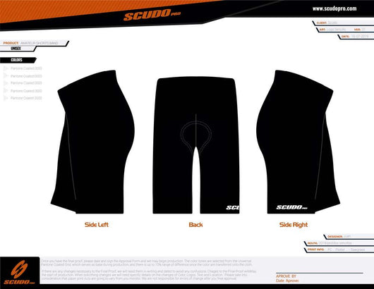 ScudoPro | Amateur - Cycling short  | Band | Delux Pad | Men and Women