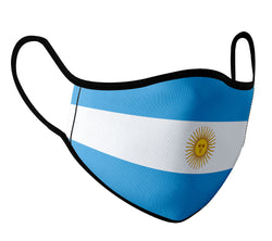 Argentina - Face Mask with fluid and moisture resistant fabric. Reusable and Washable