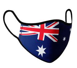 Australia - Face Mask with fluid and moisture resistant fabric. Reusable and Washable