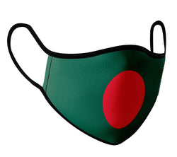Bangladesh - Face Mask with fluid and moisture resistant fabric. Reusable and Washable