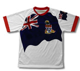 Cayman Islands Flag Technical T-Shirt for Men and Women