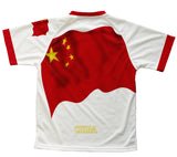 China Flag Technical T-Shirt for Men and Women