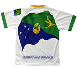 Christmas Island Flag Technical T-Shirt for Men and Women