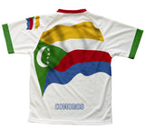 Comoros Flag Technical T-Shirt for Men and Women