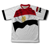 Egypt Flag Technical T-Shirt for Men and Women