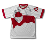 Greenland Flag Technical T-Shirt for Men and Women