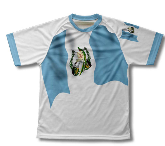 Guatemala Flag Technical T-Shirt for Men and Women