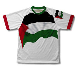 Palestine Flag Technical T-Shirt for Men and Women