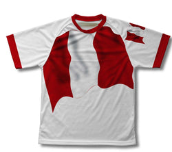 Peru Flag Technical T-Shirt for Men and Women