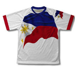 Philippines Flag Technical T-Shirt for Men and Women