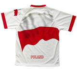 Poland Flag Technical T-Shirt for Men and Women