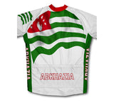 Abkhazia Flag Cycling Jersey for Men and Women