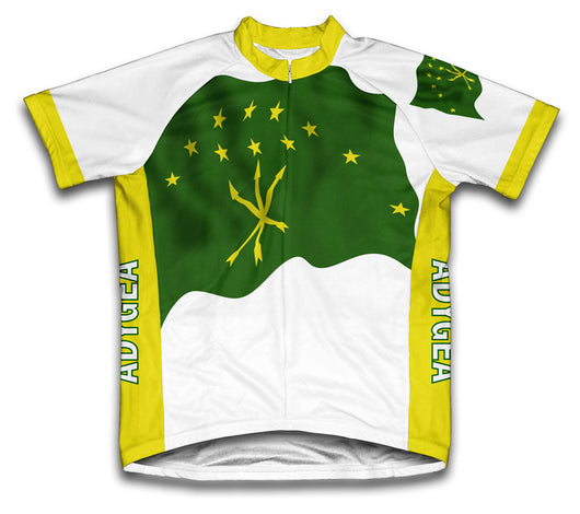 Adygea Flag Cycling Jersey for Men and Women