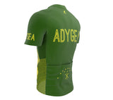 Adygea  Full Zipper Bike Short Sleeve Cycling Jersey