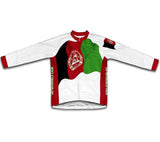 Afghanistan Flag Winter Thermal Cycling Jersey
