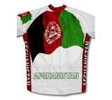 Afghanistan Flag Cycling Jersey for Men and Women