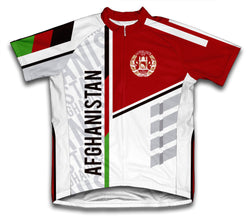 Afghanistan ScudoPro Cycling Jersey for Men and Women
