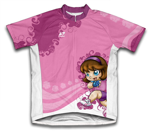 Aiko Anime Short Sleeve Cycling Jersey for Men and Women