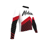 ScudoPro Pro Thermal Long Sleeve Cycling Jersey Alabama USA state Icon landmark identity  | Men and Women