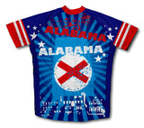 Alabama Short Sleeve Cycling Jersey for Men and Women