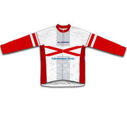 Alabama Flag Winter Thermal Cycling Jersey