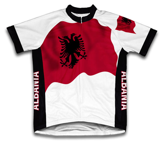 Albania Flag Cycling Jersey for Men and Women