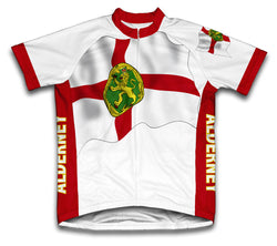 Alderney Flag Cycling Jersey for Men and Women