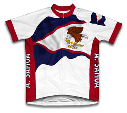 American Samoa Flag Cycling Jersey for Men and Women