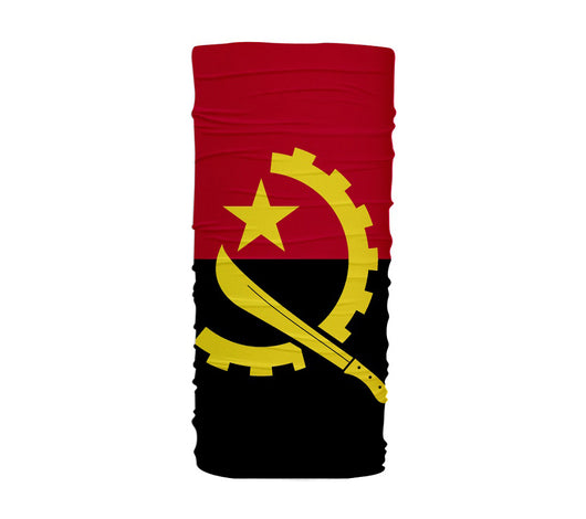Angola Flag Multifunctional UV Protection Headband