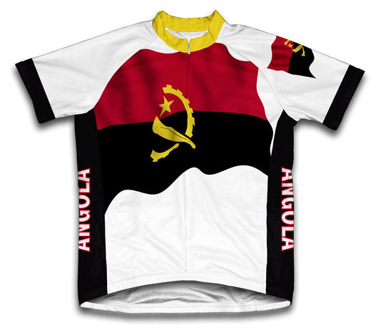 Angola Flag Cycling Jersey for Men and Women