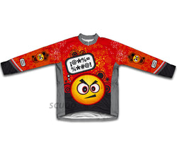 Angry Thinker Winter Thermal Cycling Jersey