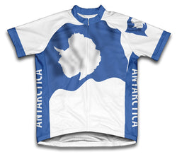 Antarctica Flag Cycling Jersey for Men and Women