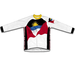 Antigua And Barbuda Flag Winter Thermal Cycling Jersey